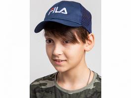 Кепка на лето для мальчика оптом - Фила (реплика) - хлопок сетка