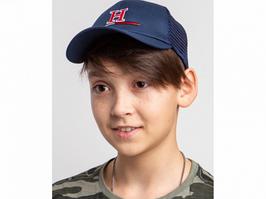 Кепка на лето для мальчика оптом - хлопок сетка