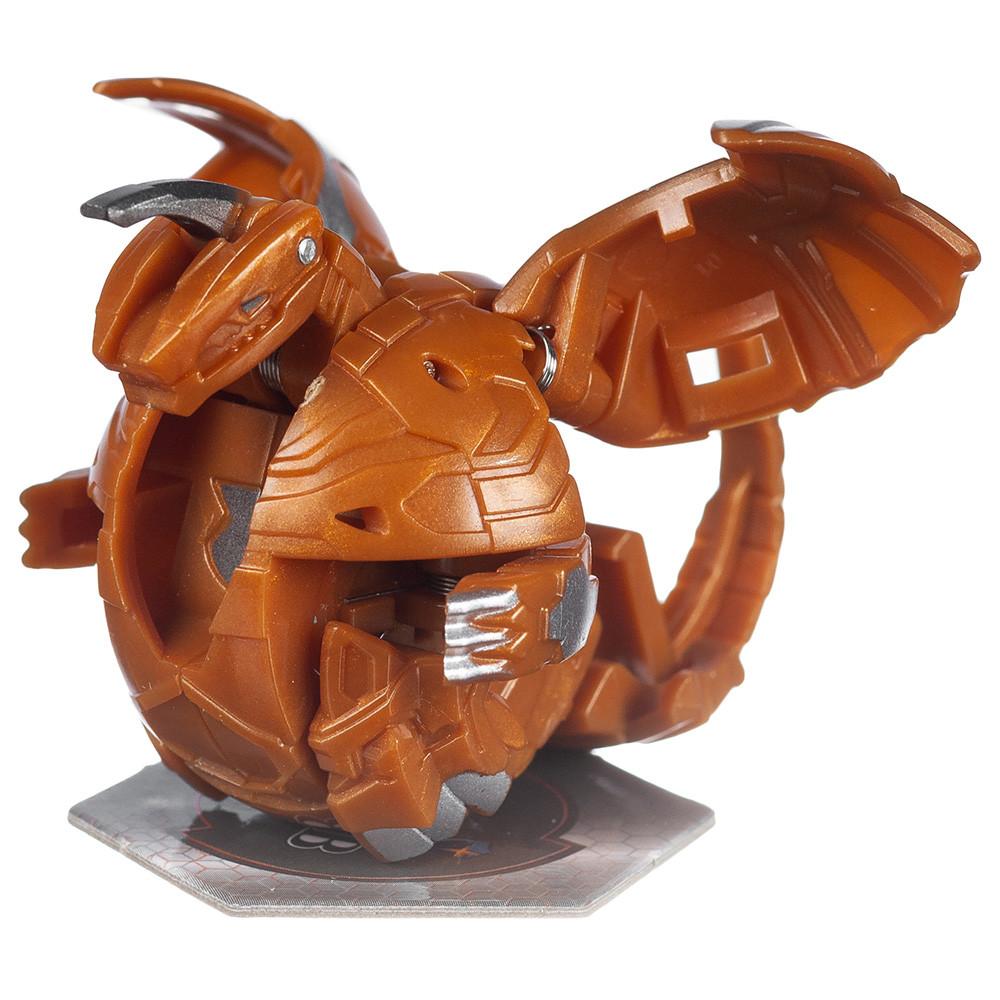 Бакуган SB601-01 Аурелиус Драгоноид коричневый в наборе Bakugan