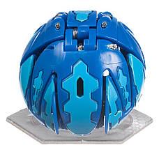 Бакуган Кракелиус синий + игровая арена Bakugan в подарок, фото 2