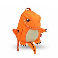 Детский рюкзак Nohoo Динозаврик 27х23х12 см Оранжевый (NH029 Orange)
