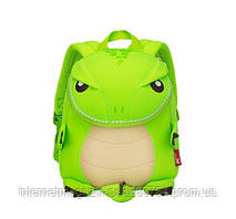 Детский рюкзак Nohoo Динозаврик 27х23х12 см Салатовый (NH029 Green)
