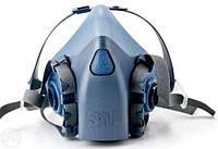 Полумаска 3М 7502 (без фільтрів)