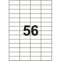 Этикетка самоклеящаяся TAMA 52,2х21,2 (56 на листі) с/кл (100листів) (17799)