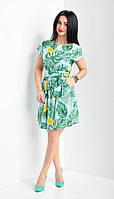 Легкое летнее платье из софта, фото 1
