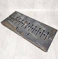 Мангал раскладной в чемодан 3 мм с ножками на 12 шампуров, фото 1