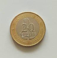 20 рупій Маврикій 2007 р., фото 1