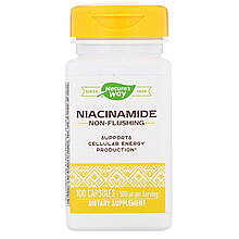 "Ніацинамід nature's Way ""Niacinamide"" вітамін В3, 500 мг (100 капсул)"