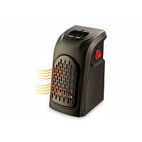 Портативный тепловентилятор электрообогреватель настенный в розетку Handy heater дуйка 400Вт с пультом, таймер