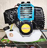 Бензокоса Байкал ББТ-6100 Professional 2 ножа 1 катушка мотокоса, фото 7