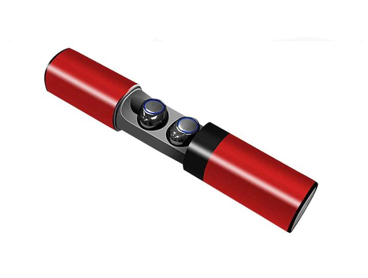 Беспроводные вакуумные Bluetooth наушники S2,Стерео гарнитура с зарядным кейсом Power Bank