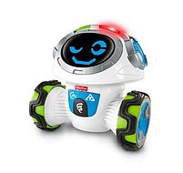 Интерактивная игрушка Fisher Price Фишер Прайс Обучающий Умный Робот Мови на русском FKC38, фото 3