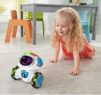 Интерактивная игрушка Fisher Price Фишер Прайс Обучающий Умный Робот Мови на русском FKC38, фото 9
