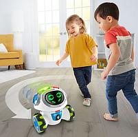 Интерактивная игрушка Fisher Price Фишер Прайс Обучающий Умный Робот Мови на русском FKC38, фото 8