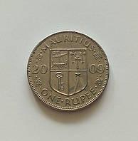 1 рупия Маврикий 2009 г., фото 1