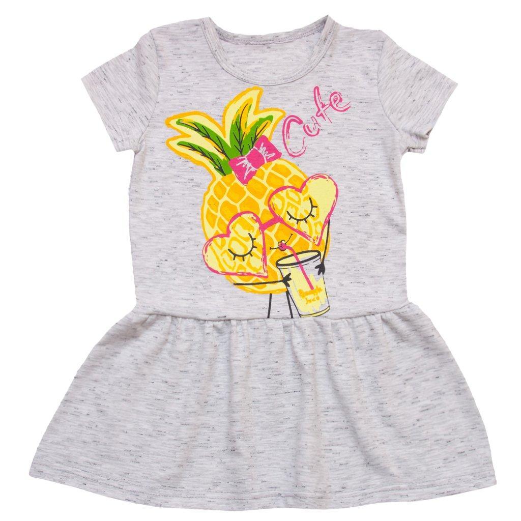 Платье летнее для девочки Ананас