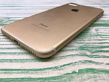 Б\У Apple iPhone 7 Plus 32Gb Gold Neverlock Оригинал, фото 3