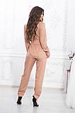 Летний брючный костюм из ткани киви, 4цвета (пиджак+брюки)  р.44-46,48-50,52-54  Код 997В, фото 4
