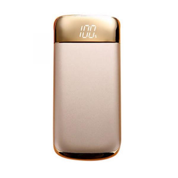 Power Bank внешнее зарядное устройство Y10 20000mAh Gold, павер банк портативный зарядный акумулятор