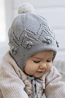 Перевод описания детской шапочки на подкладке «Снежная ягода»