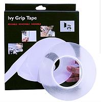 Многоразовая крепежная лента Super Ivy Grip Tape 3 м, фото 1