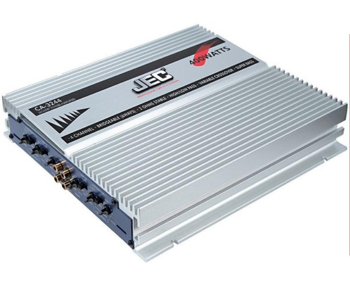 Автомобильный усилитель JEC CA-3244 400Вт 4х канальный