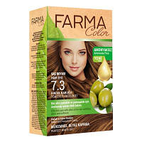 Краска для волос без аммиака Farma Color Орех 7..3