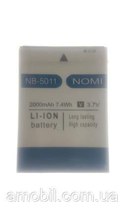 Аккумулятор Nomi i5011 Evo M1 NB-5011 (2000 mAh) orig