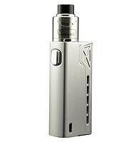 Электронная сигарета Tesla Terminator 90W мод Silver Стартовый набор с аккумулятором, фото 1