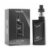 Вейп Smok Alien 220W Kit Электронная сигарета Смок Элиен Стартовый набор Черный