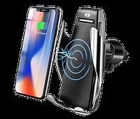 Беспроводная зарядка для телефона в автомобиль Penguin Smart Sensor S5 зарядка для смартфона в машину, фото 1