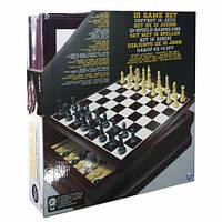 Набір у дерев'яній коробці Spin Master Games 10 класичних ігор (SM98376/6033153)