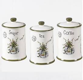 Банки для сыпучих и чая