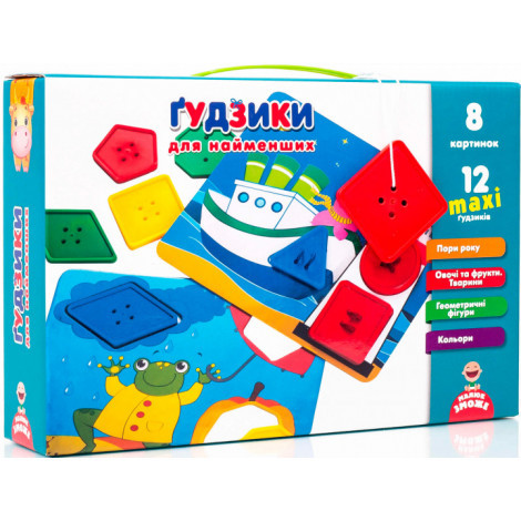Гра Vladi Toys Ґудзики для найменших Укр (VT2905-02)