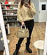 Сумка в стиле Хермес Биркин 25см / золотая фурнитура  / натуральная кожа (835-25) Коричневый, фото 9
