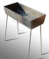 Мангал трансформер на 12 Шампуров (Чемодан ,3 мм)