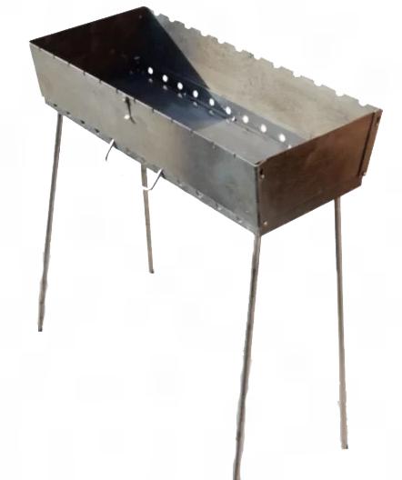Мангал трансформер на 10 Шампуров (Чемодан ,3 мм)