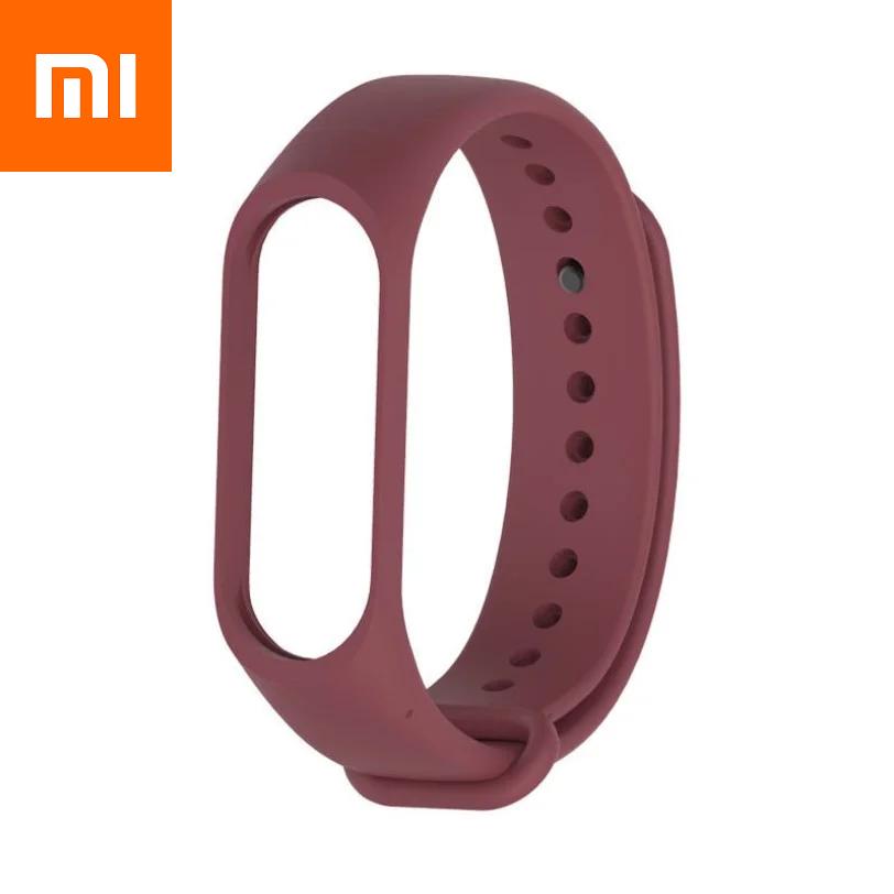 Ремешок для Xiaomi Mi Band 3 Бордовый Оригинальное Качество Red Bordo