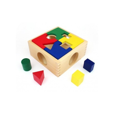 Дерев'яні іграшки Світ дерев'яних іграшок Сортер цікава коробка