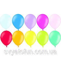 """Латексные шарики 12"""" пастель В105 ассорти 50шт/уп BelBal"""