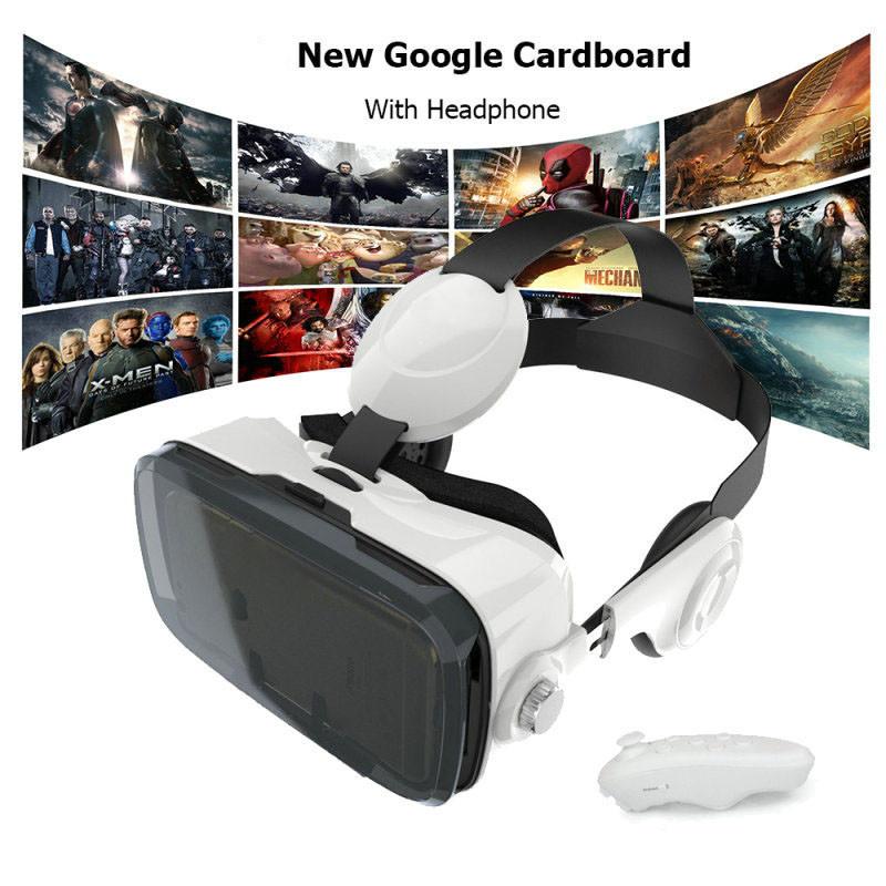 Оригинал Очки виртуальной реальности VR BOX Z4  (с пультом и наушниками)