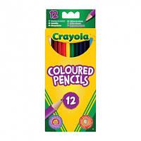 Кольорові олівці Crayola 12 шт (3612)