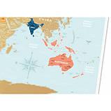 Скретч карта світу 1DEA.me Holiday Lagoon ENG (HWL), фото 2
