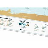 Скретч карта світу 1DEA.me Holiday Lagoon ENG (HWL), фото 4