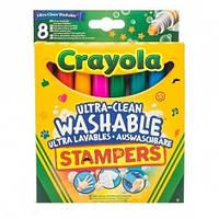 Набір фломастерів-штампів Crayola 8 шт (58-8129)