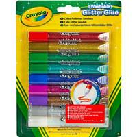 Клей з блискітками Crayola Glitter Glue 9 шт (69-3527)
