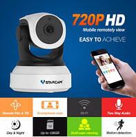 Профессиональная беспроводная WiFi IP камера Vstarcam C7824WIP 720P. Видео, радио няня. Android, iOs, PC. Eye4