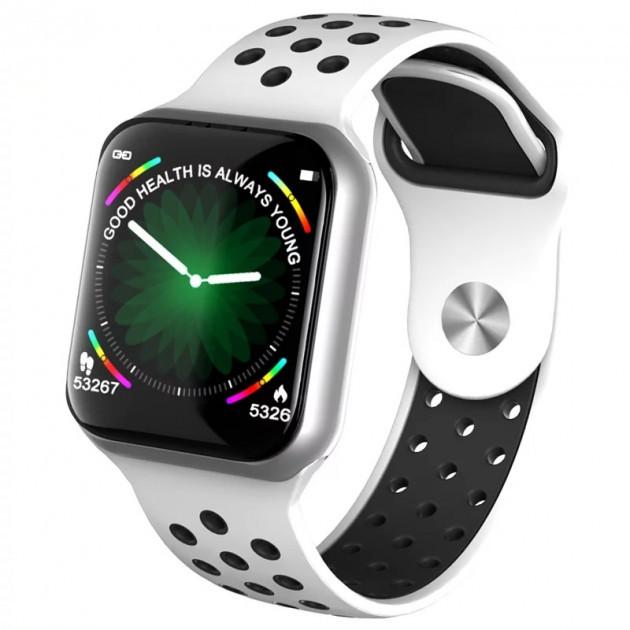 Умные смарт часы с пульсометром и шагомером для Android Smart Watch SENOIX F8 белые