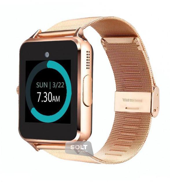 Умные часы телефон Smart Watch Z60 Original Gold (ECB)