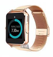 Умные часы телефон Smart Watch Z60 Original Gold (ECB), фото 1